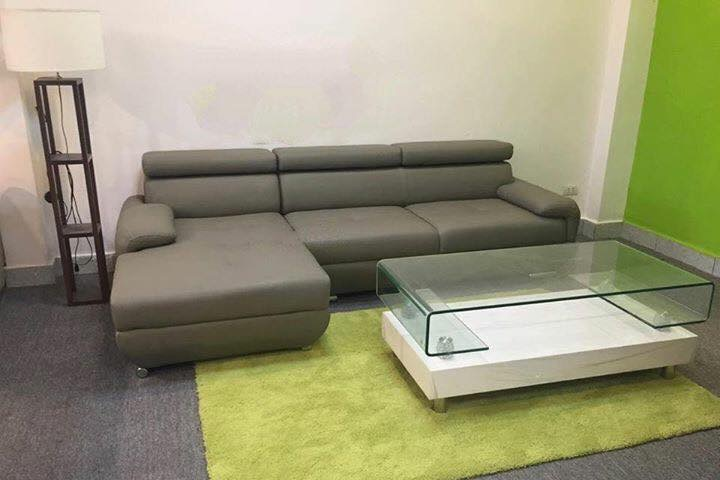 Sofa da góc cao cấp SF016