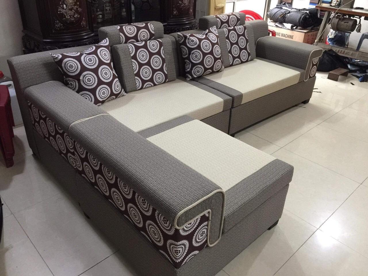 Sofa nỉ 3 tay SFN2105