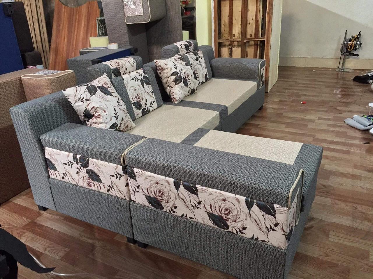 Sofa nỉ 3 tay SFN2104