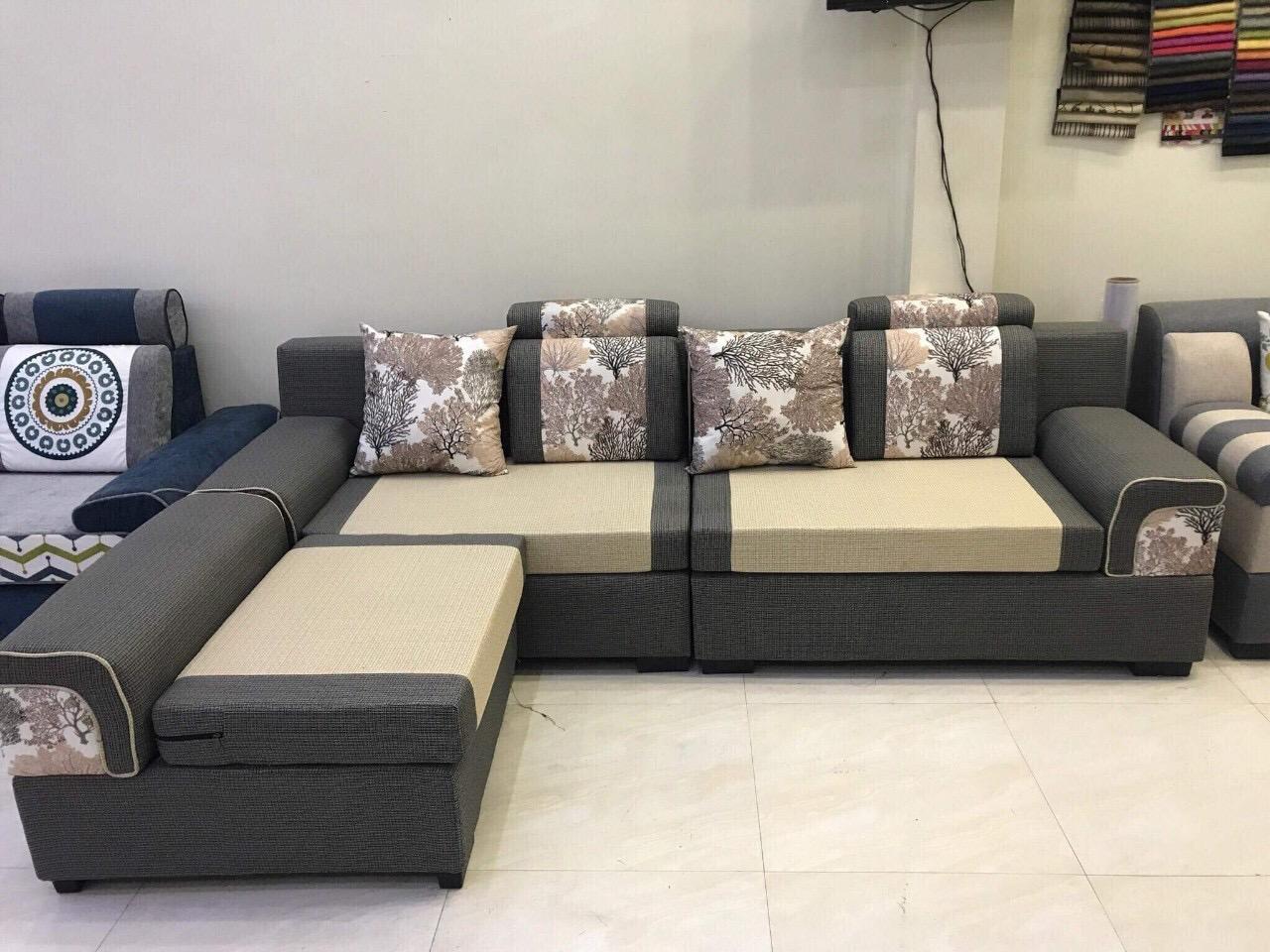 Sofa nỉ 3 tay SFN2103
